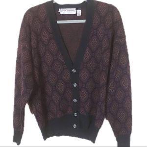 Vintage JOHN ASHFORD grandpa sweater made in Italy